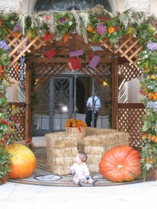 Avi in the Sukkah