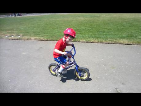 Avi Rides a Bike