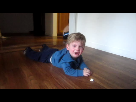 Ezra Terrible Twos Tantrum